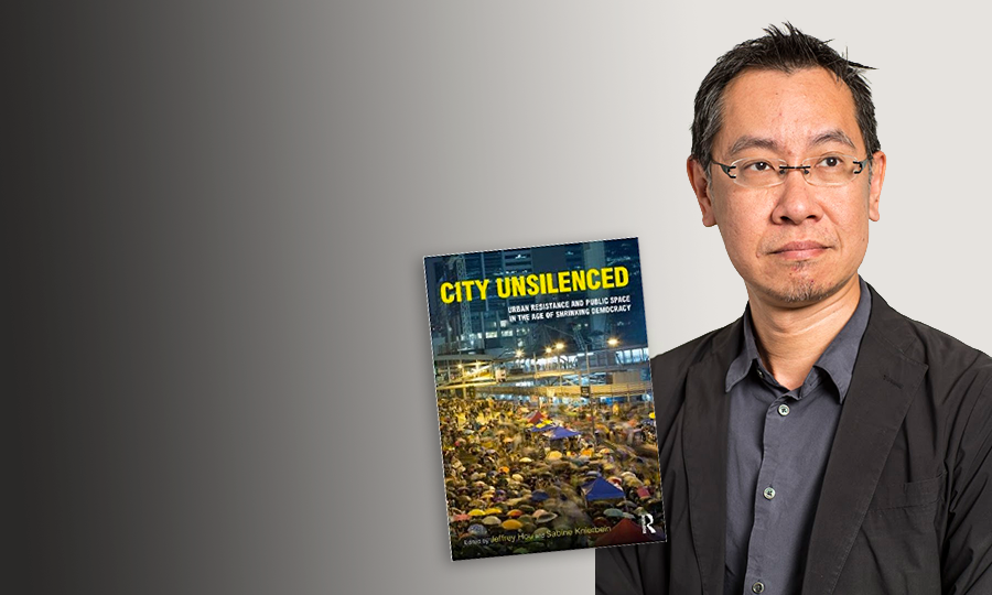 Photo of Jeff Hou and his latest book cover