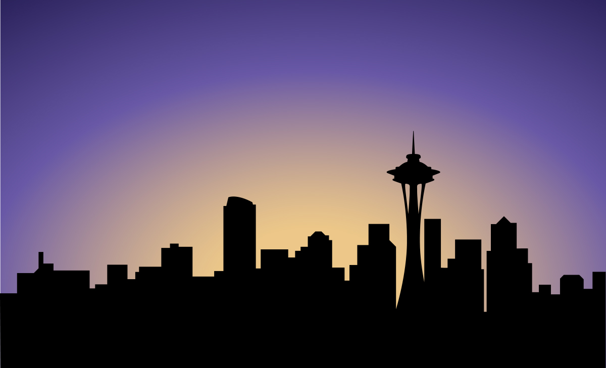 seattle skyline silhouette related keywords   suggestions seahawks clipart black and white seahawks helmet clipart