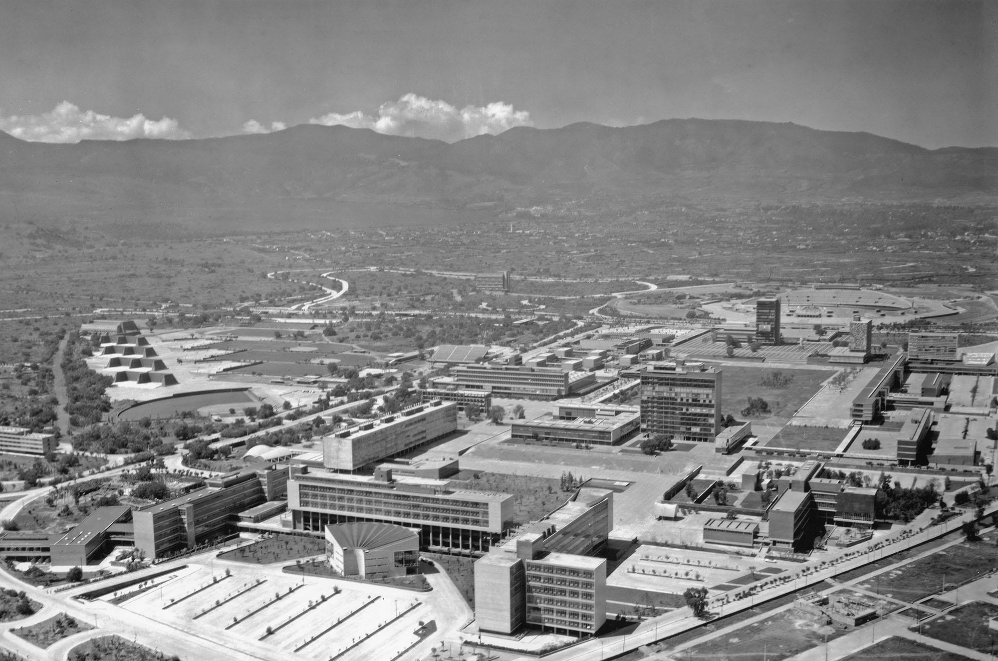 Ciudad Universitaria 1954