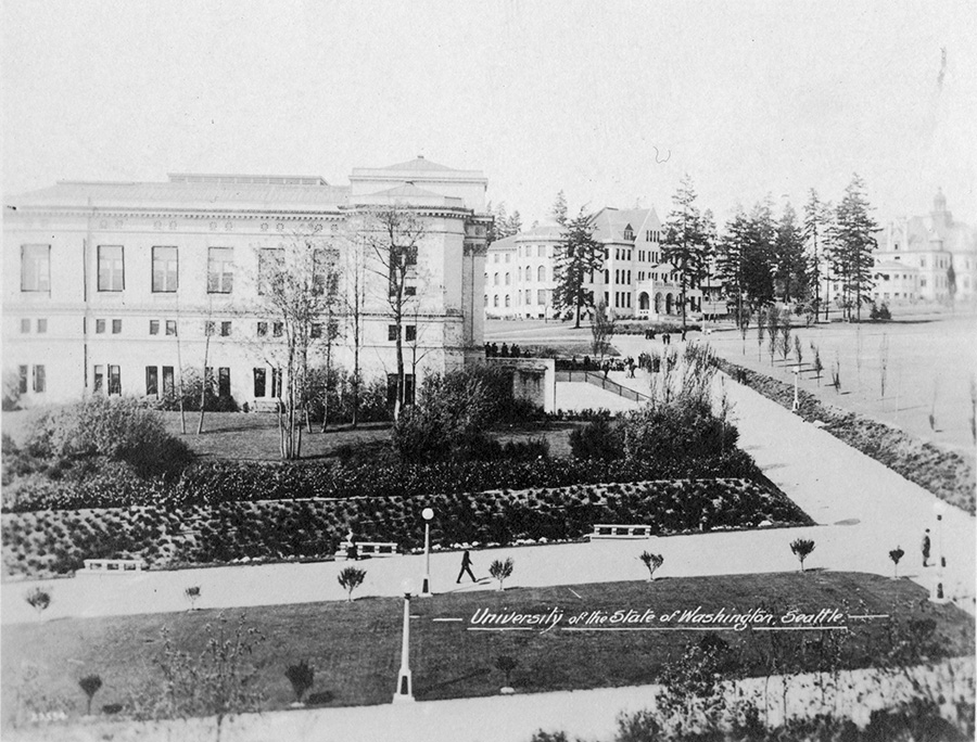 Architecture Hall, University of Washington,circa 1910-1930